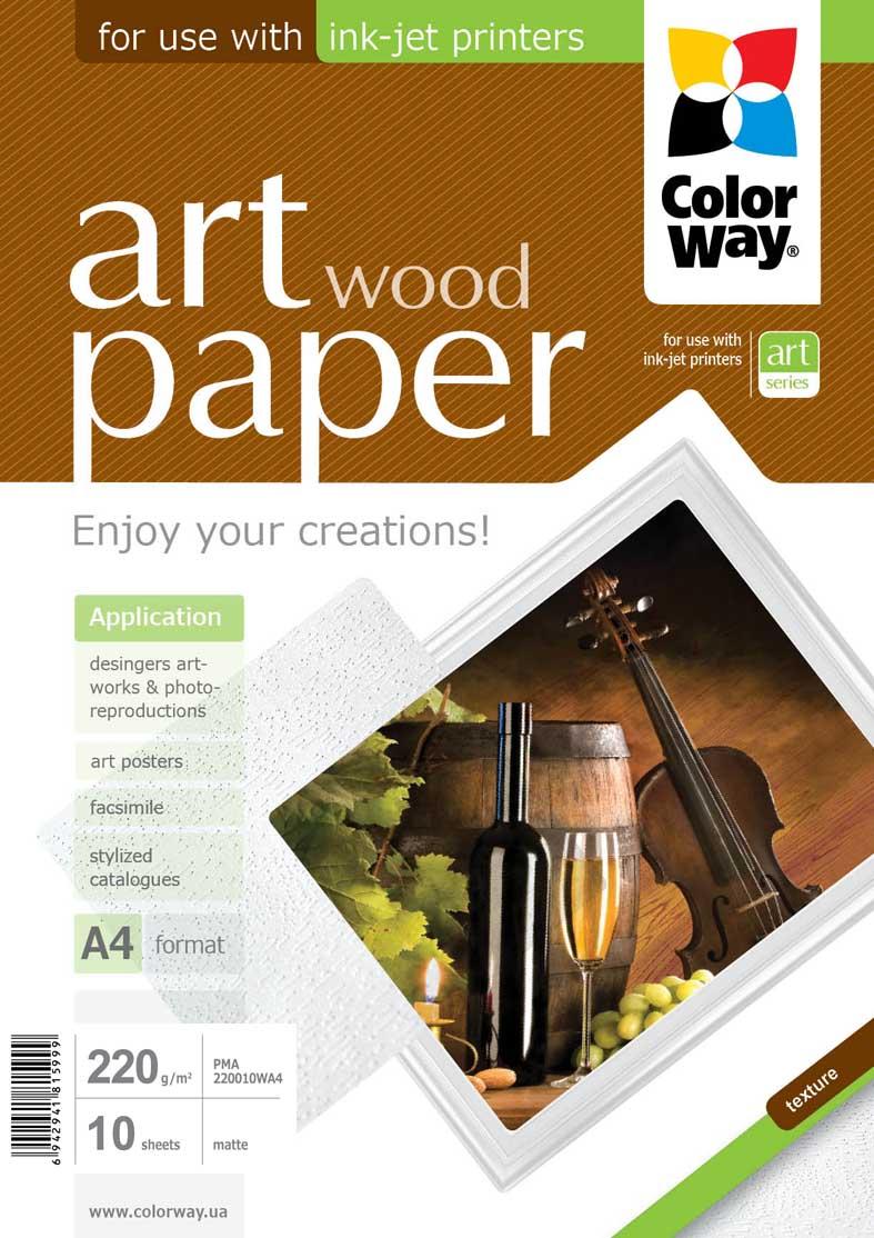 Photo paper ColorWay ART matte texture