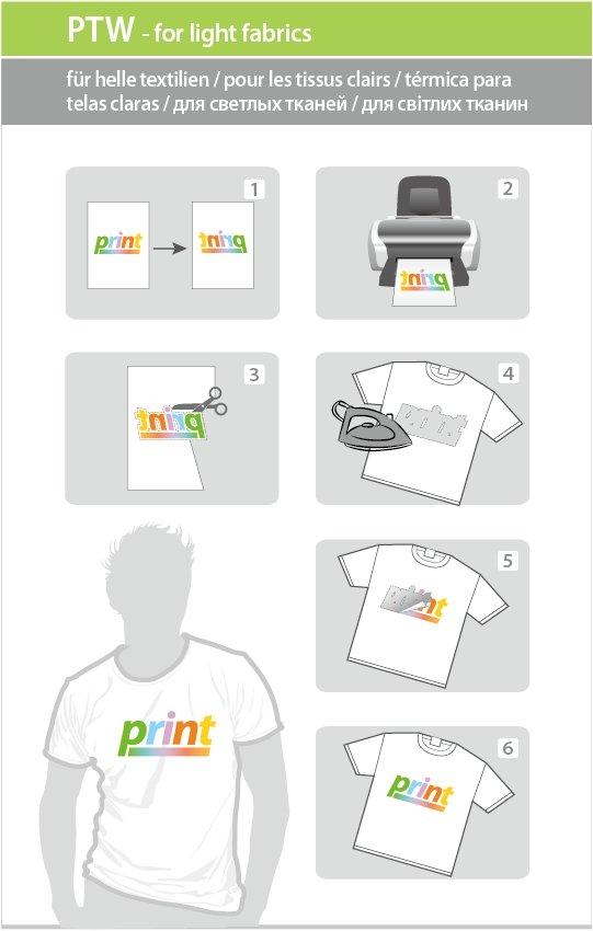 kodak печать футболок