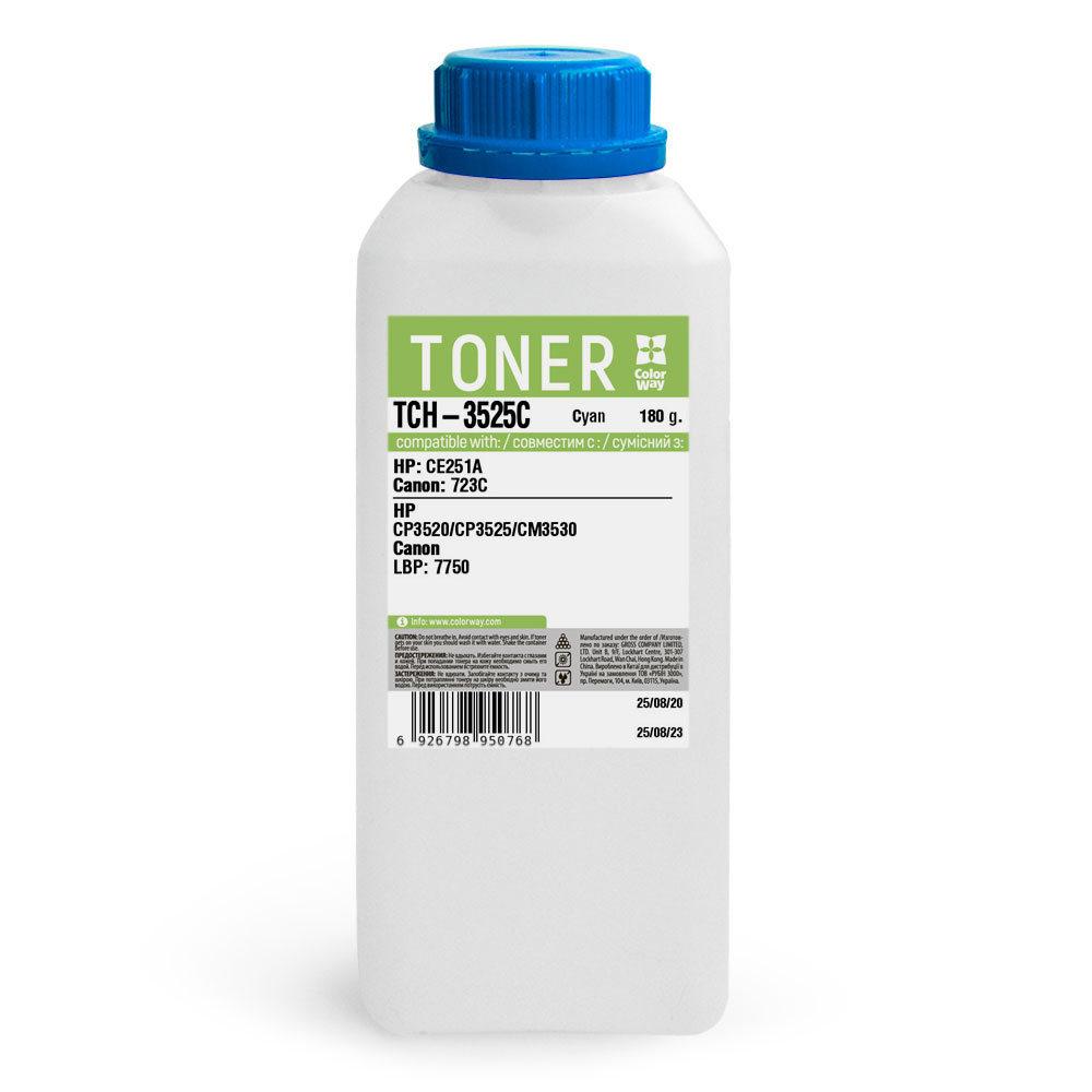 Laser toner ColorWay for HP CLJ CP3525 (TCH-3525C) | ColorWay (en-CW)